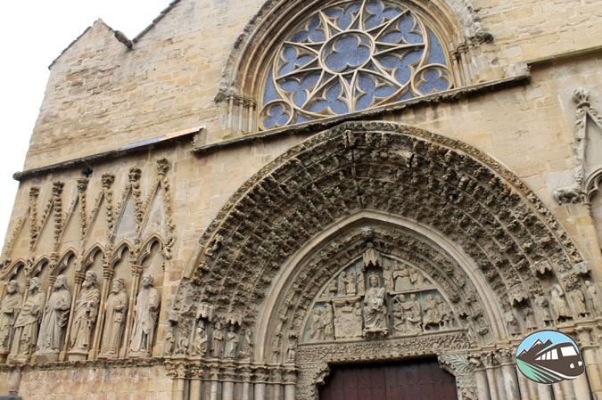 Iglesia Santa María en Olite