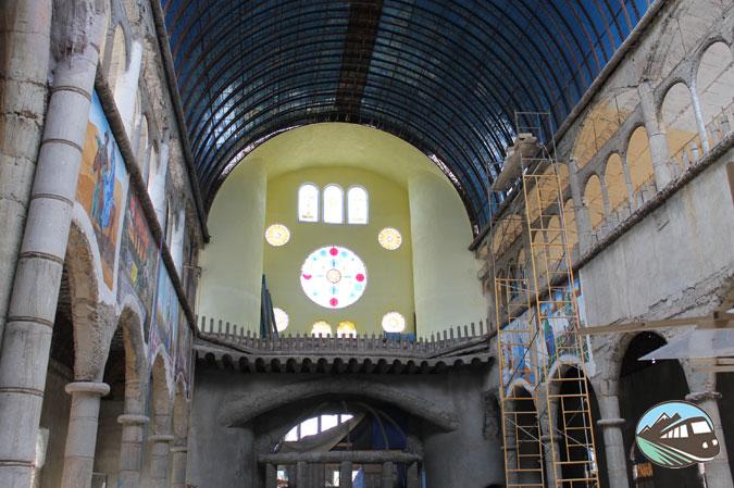 Murales de la Catedral de Justo
