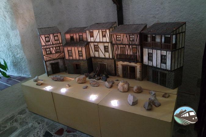 Maqueta de las Casa Serranas - Peña de Francia