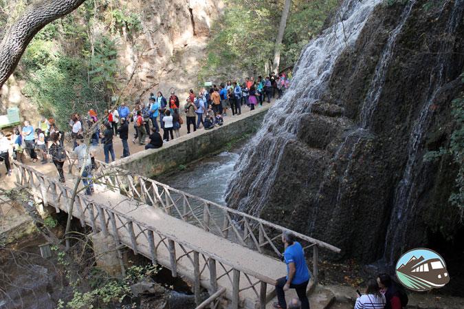 Acceso Gruta Gris - Parque del Monasterio de Piedra