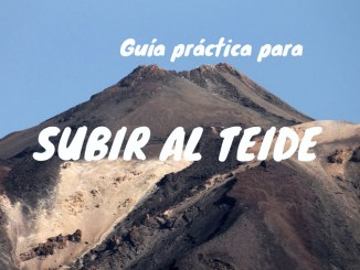 Subir al Teide
