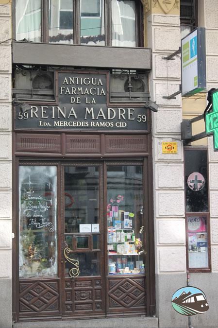 Farmacia de la Reina Madre - Locales Centenarios de Madrid
