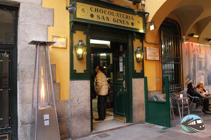 Chocolatería San Ginés – Locales Centenarios de Madrid