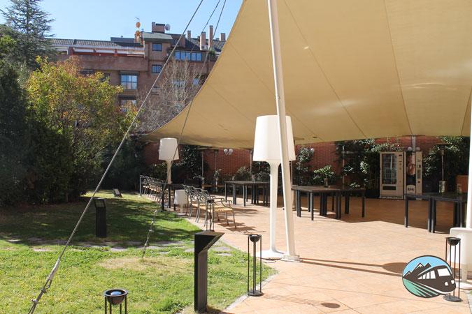 Terraza de verano - Rafaelhoteles de Atocha