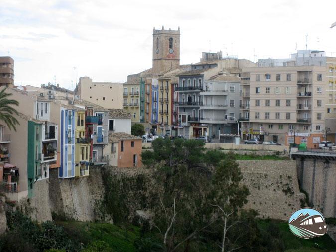 Casas policromadas de Villajoyosa
