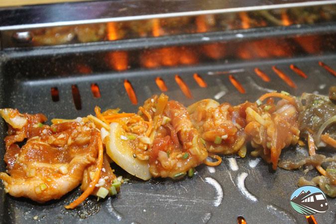 Parrilla coreana - Restaurante Maru