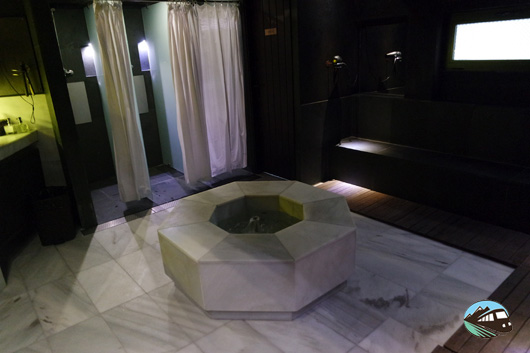 Aseos de los baños árabes