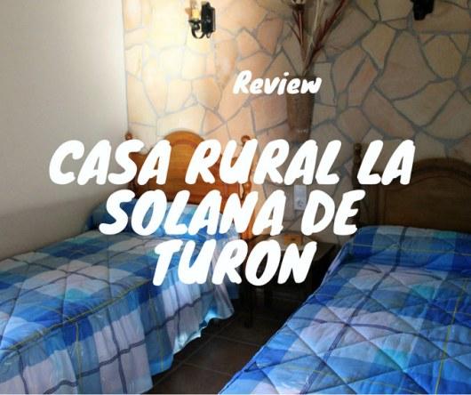 """Casa Rural """"La Solana de Turón"""""""