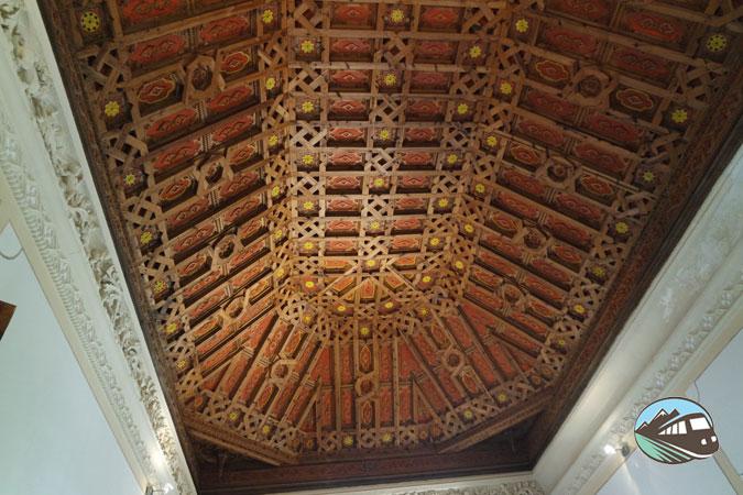 Artesonado – Castillo de Belmonte