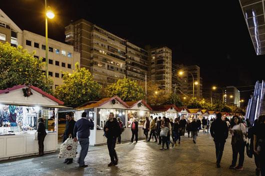 Mercadillos navideños de Sevilla