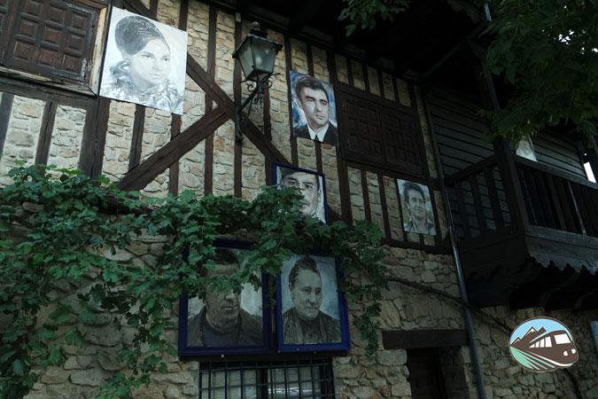 Fachadas de Mogarraz