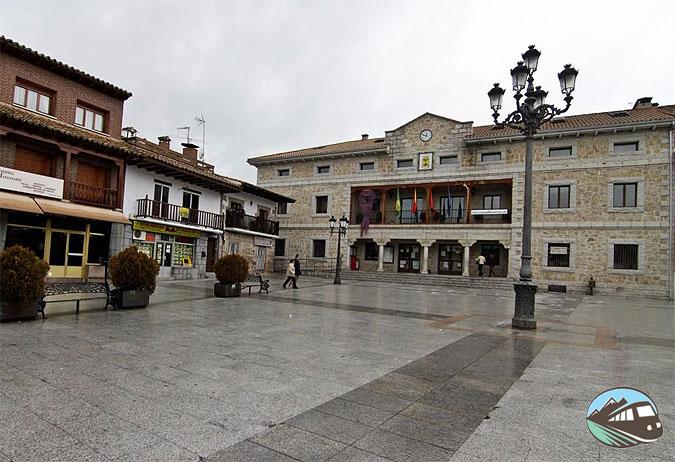 Plaza Mayor - Manzanares el Real