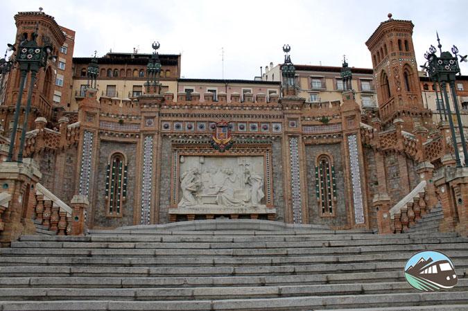 La Escalinata del Óvalo – Teruel