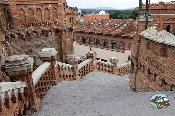 La Escalinata del Óvalo - Teruel