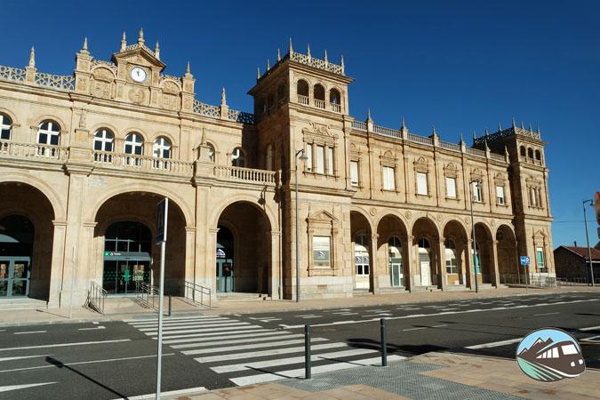 La estación de tren de Zamora