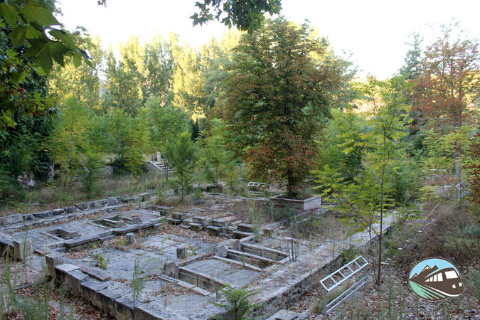 Restos del antiguo balneario - Trillo