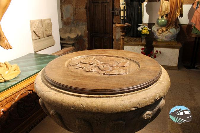 ¿Será la pila bautismal de Cervantes? - Alcázar de San Juan