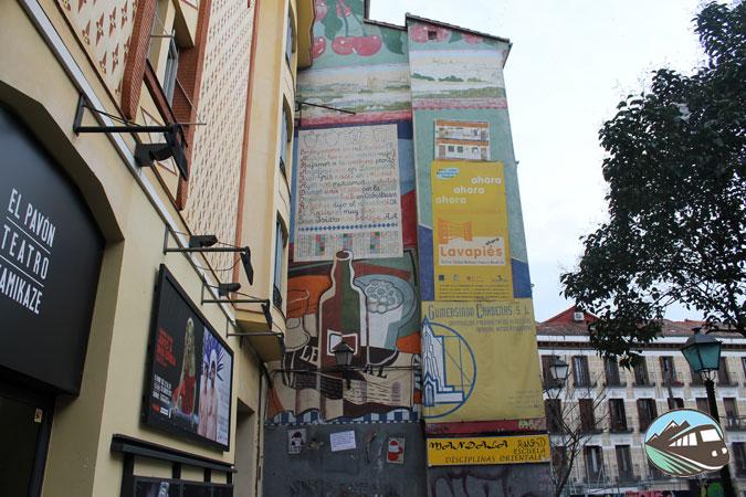 Mural calle Embajadores – Lavapiés