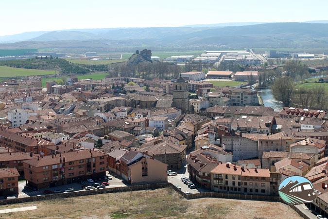 Vistas del Castillo - Aguilar de Campoo
