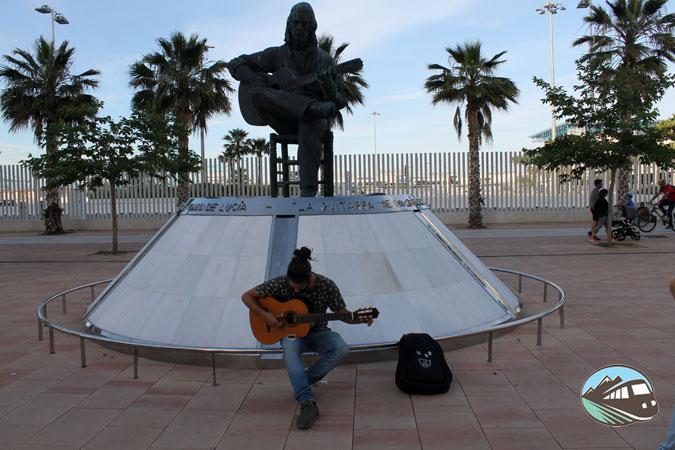 Estatua de Paco de Lucía – Algeciras