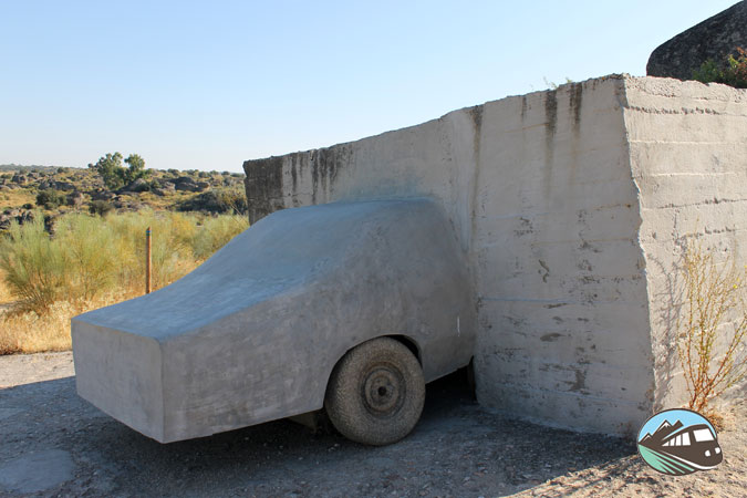 Escultura de Wolf Vostell – Los Barruecos