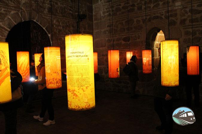 Una de las curiosas salas del Torreón - Alcázar de San Juan