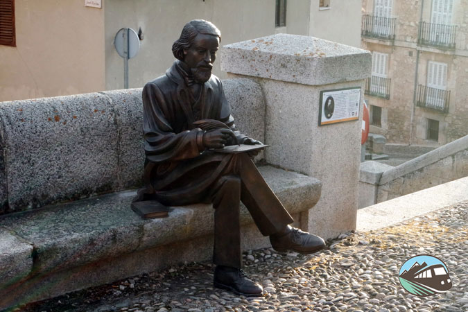Escultura de José Zorrilla - Lerma