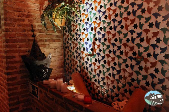 Hall de los baño árabe - Hammam Al Ándalus
