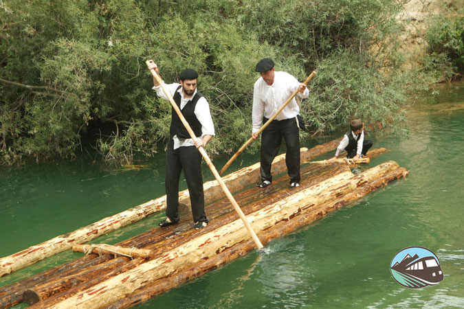 Remando por el Tajo - Fiesta de los gancheros