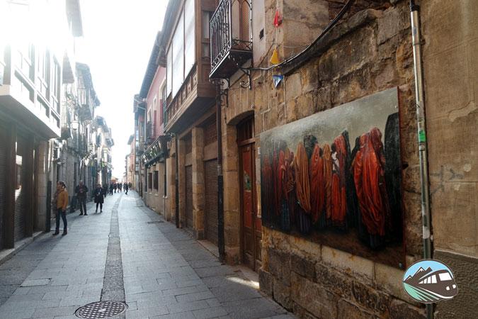 Cuadros de la calle Mayor - Medina de Pomar