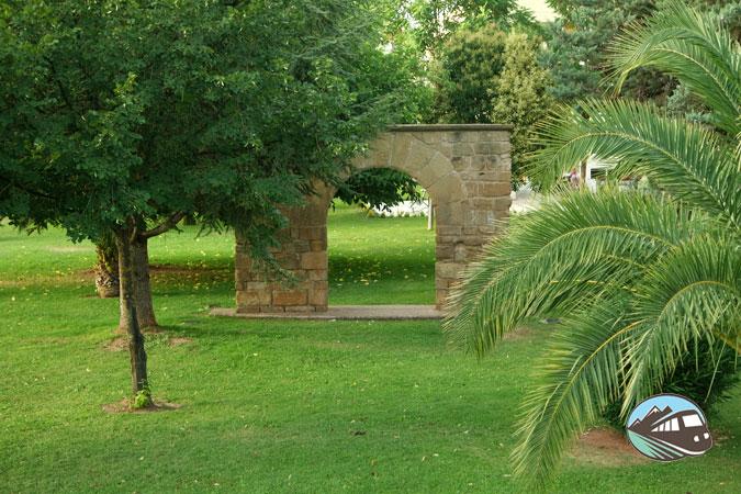 Puerta del Huerto del Monasterio de Santa María La Real