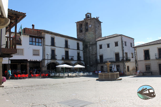 Plaza Mayor - San Martín de Trevejo