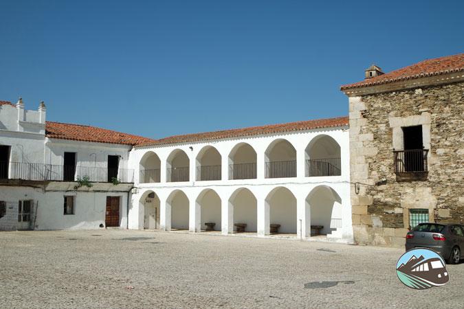 Plaza de la Corredera -Alcántara
