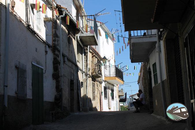 Calles de Santibáñez El Alto