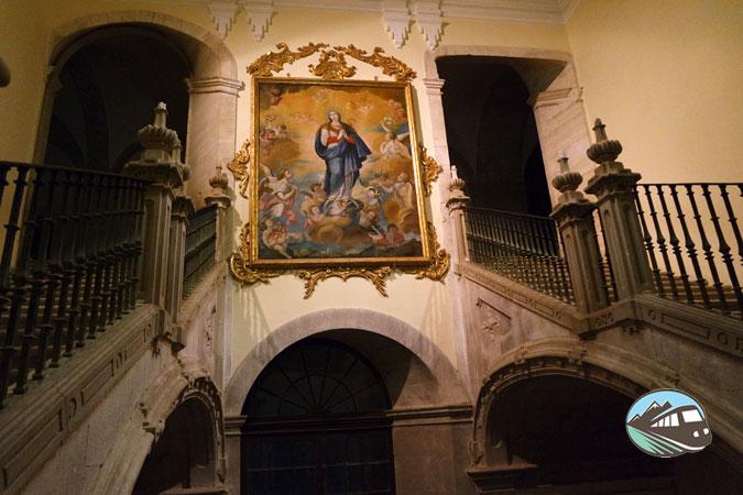 Escalera principal – Monasterio de Uclés