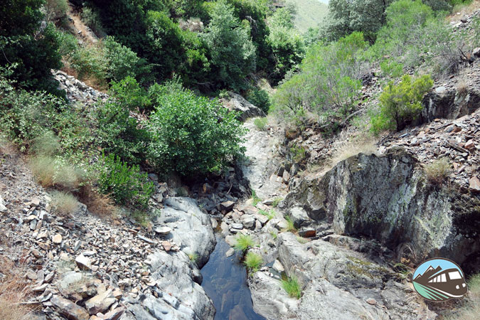 Camino al Chorrerón del Tajo