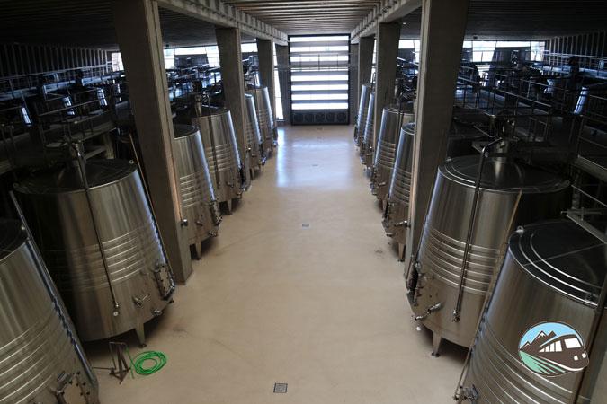 Zona de depositos – Bodegas Portia