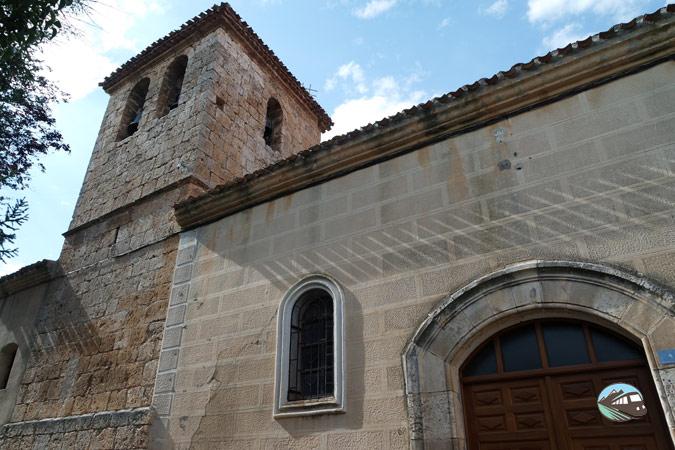 Iglesia parroquial de Tubilla del Lago