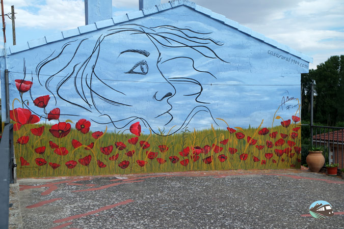 Murales de Tubilla del Lago