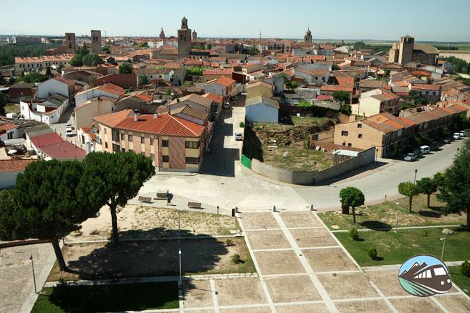 Mirador del Castillo de Arévalo