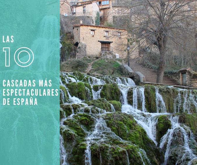 Cascadas de España – Portada