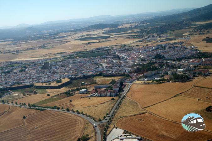 Sobrevolando Olivenza - Alqueva