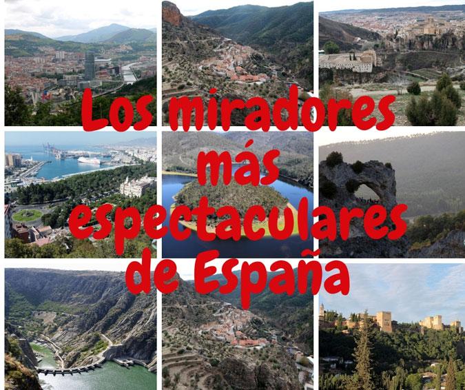 Los miradores más espectaculares de España – Portada