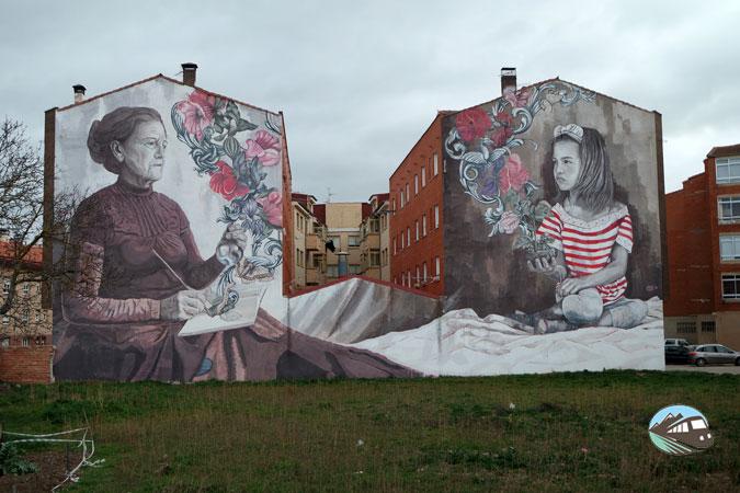 Mural de Lula Goce - Belorado