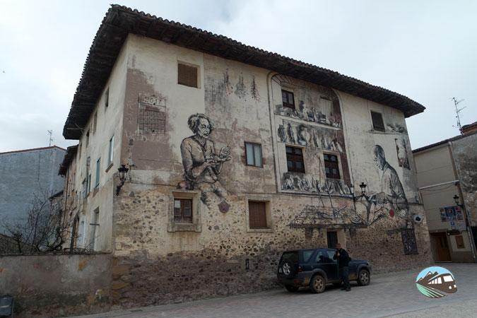 Mural de la zapatería - Belorado