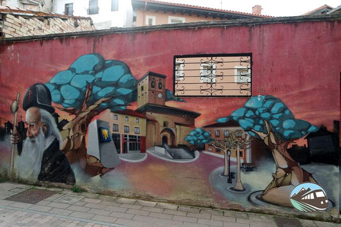 Primeros murales de Belorado