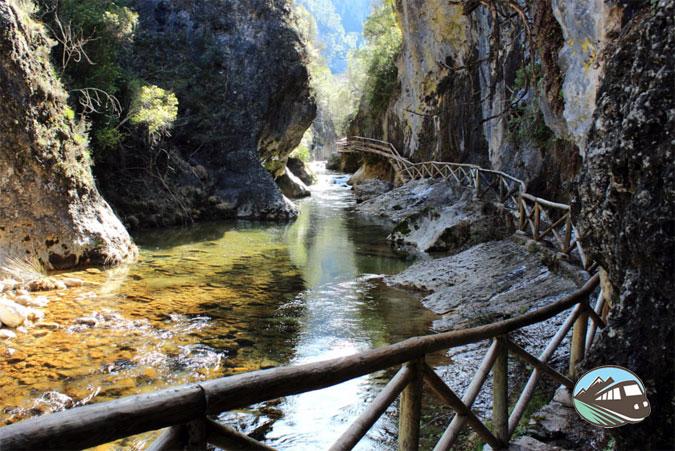 Desfiladero del río Borosa