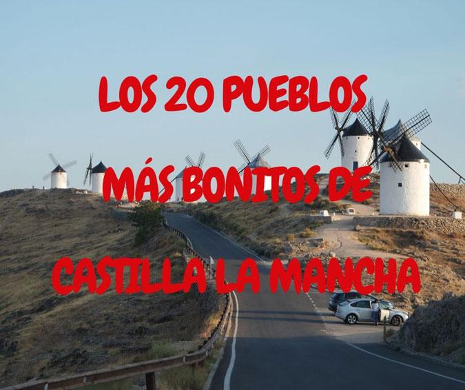 Pueblos bonitos de Castilla La Mancha – Portada