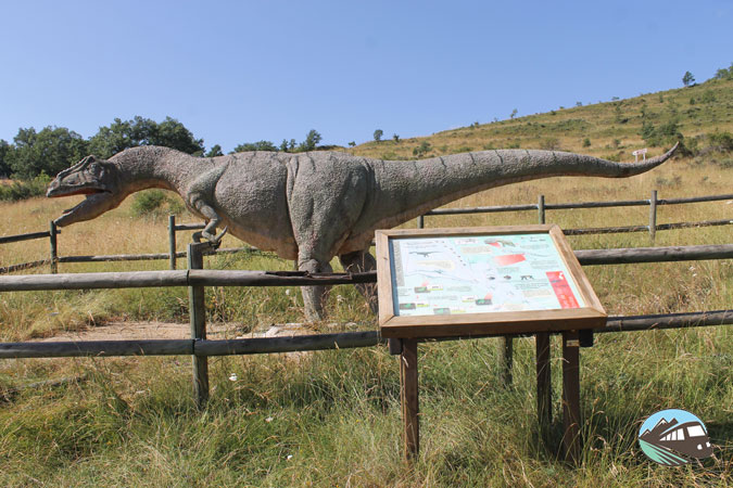 Allosaurus – Ruta de las Icnitas