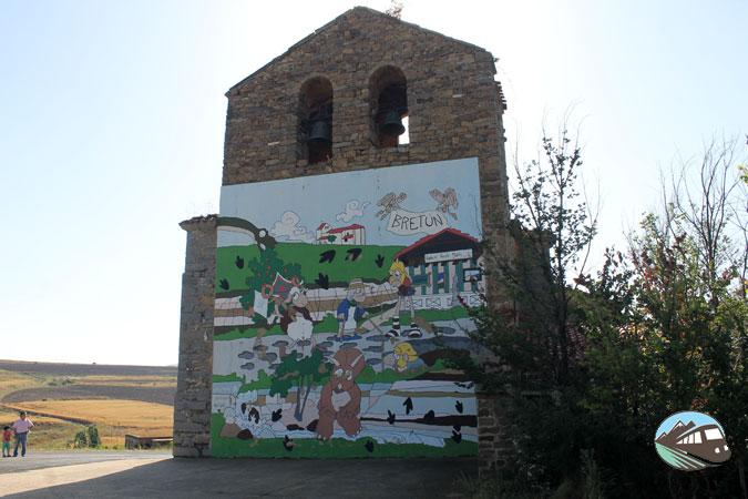 Iglesia de San Pedro Apóstol - Ruta de las Icnitas